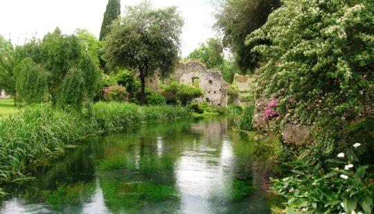 Sermoneta, Giardini di Ninfa e San Felice Circeo